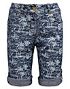 Joe Browns Palm Print Short