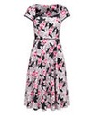 Joe Browns Colourful Coral 50s Dress