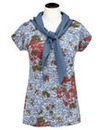 Joe Browns Distress T-Shirt and Scarf