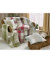 Country Check Cushion Covers Pack of 2