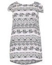 Samya Elephant Print Shift Dress