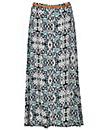 Samya Patterned Belt Skirt