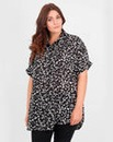 Koko Pebble Print Short Sleeve Shirt