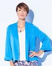 Plain Slinky Kimono Jacket
