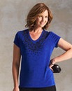 Caviar Beaded Slinky Top