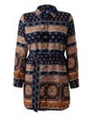 AX Paris Curve Print Shirt Dress