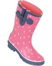 Brakeburn Short Anchor Welly Pink
