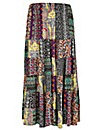 Samya Patterned Gypsy Skirt