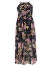 Samya Flower Maxi Dress