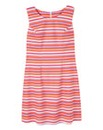 Stripe Sleeveless Shift Dress