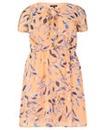 Samya Cap Sleeve Floral Dress