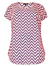 Samya Zig Zag Print Dress