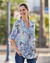 Together Butterfly Print Blouse