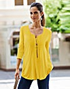 Together Pintuck Jersey Tunic