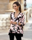 Together Contrast Print Tunic