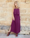 Joanna Hope Layered Maxi Dress