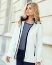 JOANNA HOPE Contrast Trim Jacket