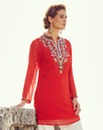 Joanna Hope Longline Bead-Trim Blouse