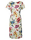 Joanna Hope Print Lace Dress