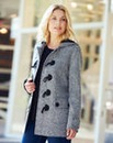 Tweed Duffle Coat Length 28ins