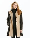 Colour Block Coat