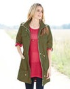 Contrast Colour Parka
