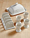 Country Hearts 6-Piece Breakfast Set
