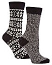 Jennifer Anderton Chunky Knit Boot Socks