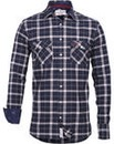 Brakeburn Lulworth Flannel Shirt