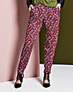 Floral Jersey Harem Trouser Short