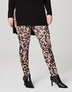 Leopard Print Stretch Jersey Leggings