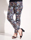 Simply Be Floral Print Cigarette Trouser