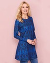 Blue Print Soft Touch Tunic