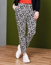 Simply Be Printed Cigarette Trouser