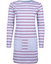 Brakeburn Yarn Dyed Stripe Dress Grey