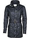 Brakeburn Cotton Coated Jacket Black