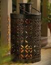 Solar Metal Candle Lantern