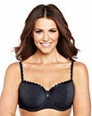 2 Pack Balcony Black/White Olivia Bras