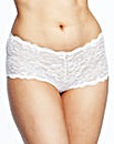 2 Pack Katy Lace Shorts Black/White