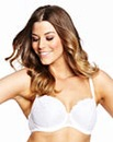 2 Pack Wired Balcony Black White Bras