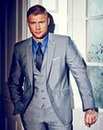Flintoff By Jacamo Suit Jacket Short