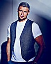 Flintoff By Jacamo Waistcoat Long