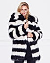 Lovedrobe Contrast Fur Jacket