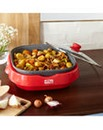 JDW Ceramic 5-in-1 Red Electric Grill