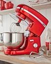 JDW 5 Litre 800W Red Stand Mixer
