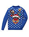 Label J Reindeer Knit Regular