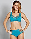 2Pack Ella Non Wired Teal/Pink Bras