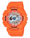 Baby G LED Light Orange Watch