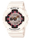 Baby G LED Light White Watch