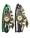 Set of 2 Bracelet Watches